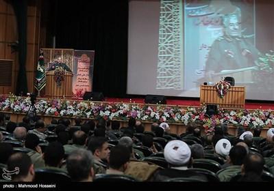 سخنرانی سرلشکر جعفری فرمانده کل سپاه در مراسم تکریم و معارفه جانشین سازمان بسیج