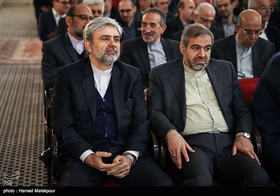"""سیدمحمدعلی حسینی در آیین رونمایی از کتاب """"گذری در تاریخ"""" خاطرات علیاکبر صالحی"""