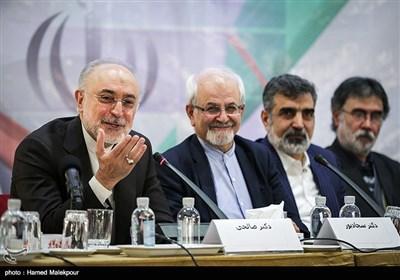 """سخنرانی علیاکبر صالحی رئیس سازمان انرژی اتمی در آیین رونمایی از کتاب """"گذری در تاریخ"""""""