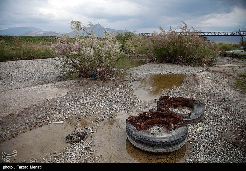 بحران زیست محیطی رودخانه گاماسیاب - کرمانشاه