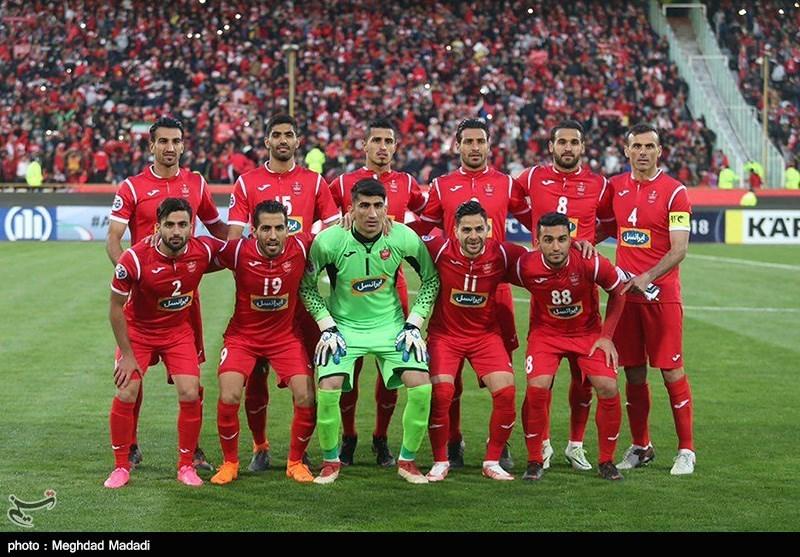 دیدار تیم های پرسپولیس ایران و السد قطر