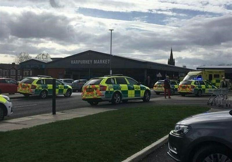 حمله یک خودرو به داخل جمعیت در منچستر انگلیس