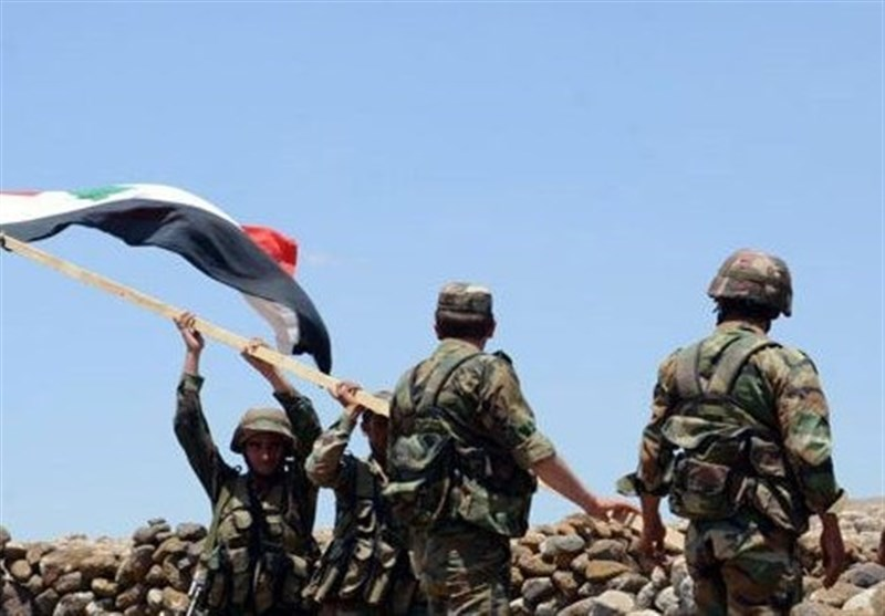 Syria Army Recaptures Key Town South of Damascus
