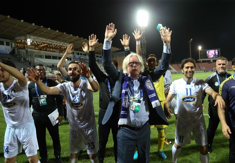 Winfried Schaefer Proud of Iran's Esteghlal Players