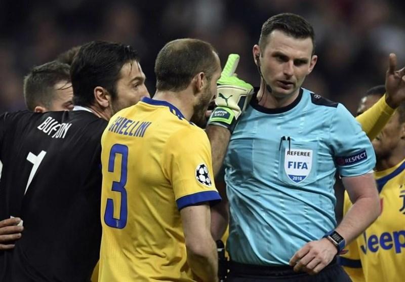 یوفا تهدید داور بازی رئال مادرید - یوونتوس را محکوم کرد
