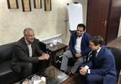 دیدار کفاشیان با رئیس کمیته فوتسال اوکراین
