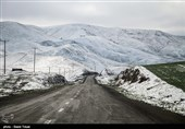 برف نواحی سردسیر و کوهستانی استان سمنان را سفیدپوش میکند
