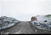 پیش بینی بارش برف در 5 استان/هشدار لغزندگی جادهها