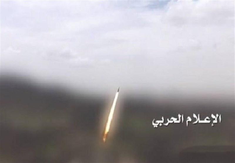 موشکباران مواضع مزدوران سعودی توسط ارتش یمن