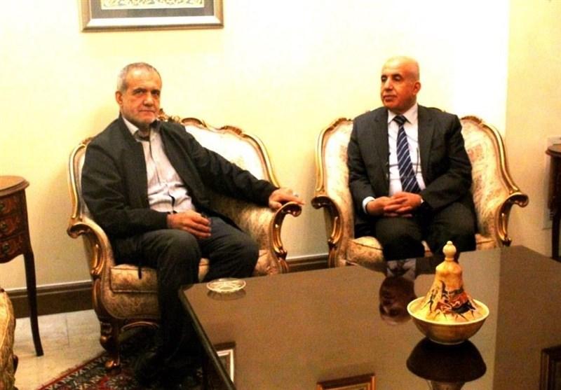 حضور سرمدی، پزشکیان و سعیدی کیا در سفارت الجزایر