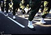 رژه نیروهای مسلح استان قم برگزار شد