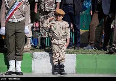 مراسم رژه روز ارتش -کرمانشاه