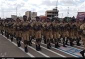 رژه یگانهای پیاده نیروهای 4 گانه در روز ارتش