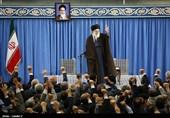 دیدار وزیر و جمعی از کارکنان وزارت اطلاعات با رهبر معظم انقلاب
