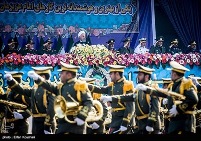 Military Parade Held in Tehran to Mark National Army Day