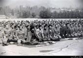 تصویر منتشرنشده از امام خامنهای در جمع پرسنل ارتش