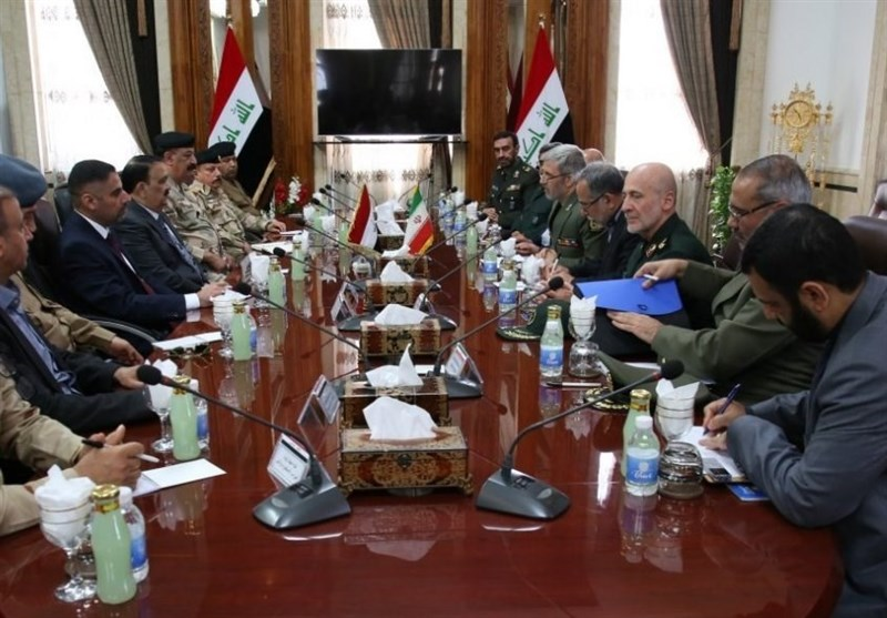 مباحثات ایرانیة عراقیة لتعزیز التعاون العسکری والامنی بین البلدین