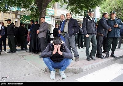 تشییع پیکر دوشهید مرزبانی -مشهد