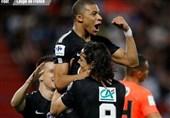جام حذفی فرانسه  پاریسنژرمن فینالیست شد
