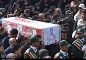 زاهدان| پیکر 2 شهید حادثه تروریستی میرجاوه صبح امروز در زاهدان تشییع شد + تصاویر