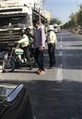 توقف محموله خودروهای وارداتی گمرک بوشهر توسط پلیس +عکس و فیلم