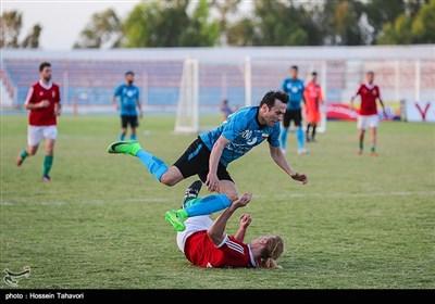 برگزاری چهارمین دوره مسابقات جام جهانی فوتبال هفت نفره هنرمندان در کیش