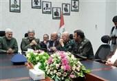 وزیر الدّفاع الإیرانی یلتقی قائد الحشد الشّعبی العراقی
