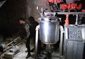 تصاویر از کشف آزمایشگاه مواد شیمیایی ساخت آلمان و انگلیس در «دوما»