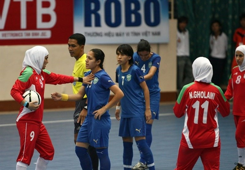 Iran Coach Announces Squad for AFC Women's Futsal Championship