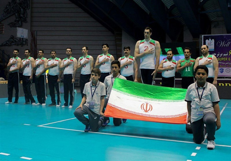 Iran Defeats Bosnia at World Super 6 Sitting Volleyball