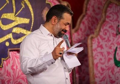 """مولودی خوانی""""محمود کریمی"""" برای امام مجتبی(ع)"""