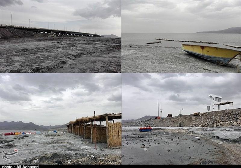 آذربایجان غربی| رهاسازی آب سدها هم حال دریاچه ارومیه را خوب نکرد+ تصاویر