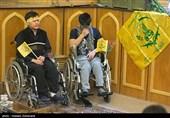 تجلیل از 500 جانباز فاطمیون در تهران+تصاویر
