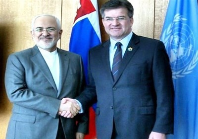 Iran's FM, UNGA President Hold Talks in New York