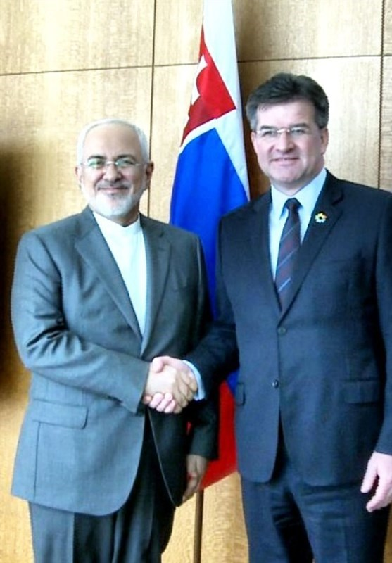 ظریف یلتقی رئیس الجمعیة العامة للأمم المتحدة