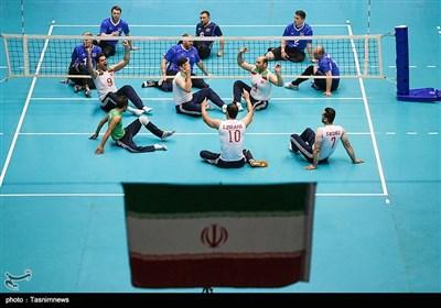 مسابقات بینالمللی والیبال نشسته -تبریز