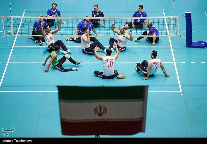 والیبال نشسته قهرمانی جهان| ثبت دومین برد پیاپی در کارنامه تیم مردان ایران