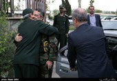 """نمایش """"ید واحده ارتش و سپاه"""" در ستاد بسیج + عکس"""