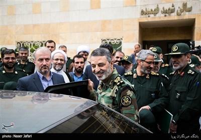 امیر سرلشکر عبدالرحیم موسوی فرمانده کل ارتش