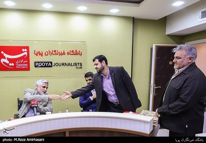 تجلیل از جانبازان در باشگاه خبرنگاران پویا