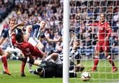 لیگ برتر انگلیس| لیورپول در آخرین دقایق بازی برده را با تساوی عوض کرد
