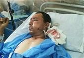 حال چوپانی که توسط پلنگ مجروح شده بود مساعد است