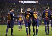 کوپادلری|بارسلونا با گلباران کردن سویا سیامین قهرمانیاش را جشن گرفت