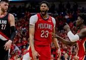 لیگ NBA| نیواورلینز با یک رکورد تاریخی به نیمه نهایی کنفرانس شرق رسید/ تاندر و راکتس شکست خوردند
