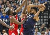 لیگ NBA| صدرنشینان شکست خوردند/ پیروزی میلیمتری راکتس در دالاس