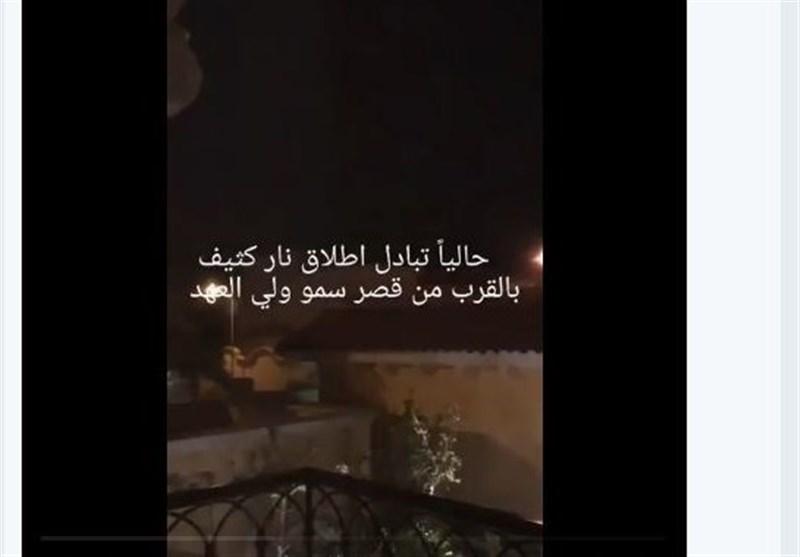 گزارش تسنیم  ابهامات حادثه اطراف کاخ سلمان و روایتهای موافقان و معارضان سعودی+تصاویر و فیلم