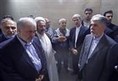 بازدید وزیر دفاع و فرهنگ از پروژهههای مهندسان ایرانی در حرم امام حسین (ع) + تصاویر