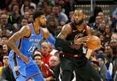 لیگ NBA|لیکرز به دنبال جیمز و جرج