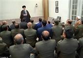 تجلیل امام خامنهای از مواضع انقلابی و وحدتآفرین فرمانده کل ارتش