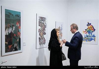نمایشگاه هنری آثار کشور اسلواکی